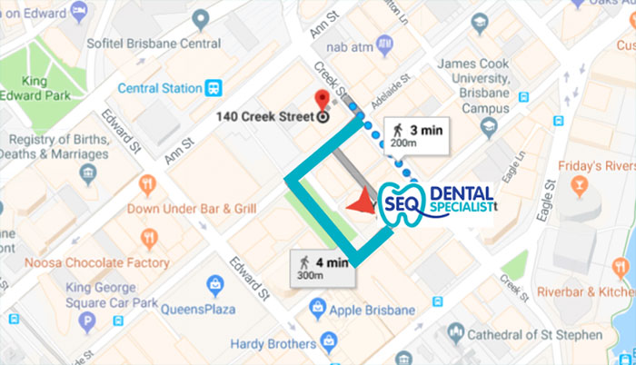 Map SEQ Dental Specialist